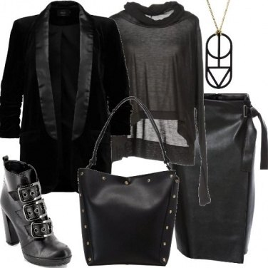 Outfit Rock con stile