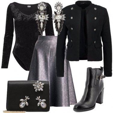 Outfit Una gonna a campana