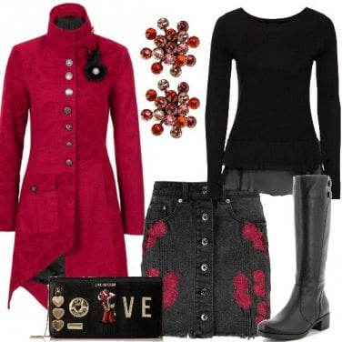 Outfit Fiori e amore