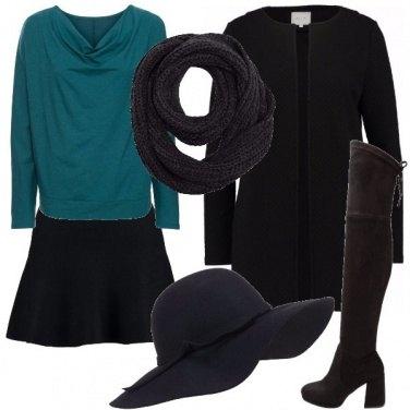 Outfit Il cappello a tesa larga