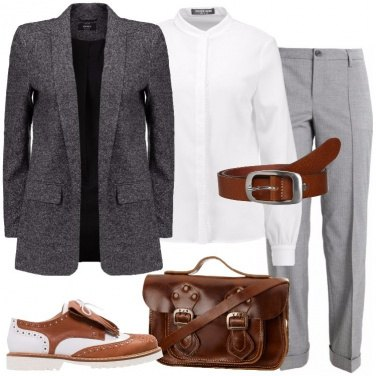 Outfit In stile Mannish