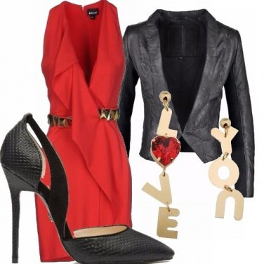 Outfit Sexy san valentino