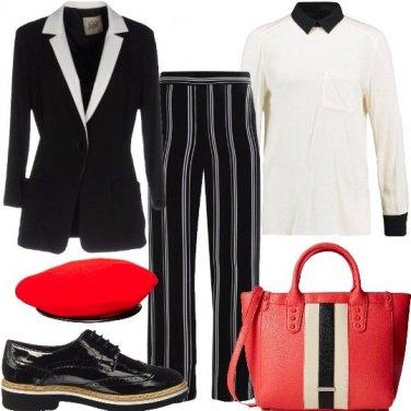 Outfit Rosso passione al maschile