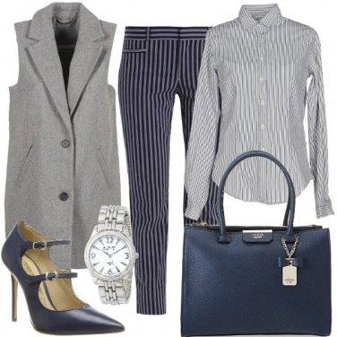 Outfit La giacca senza maniche