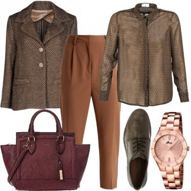 Outfit Tweed e stringate