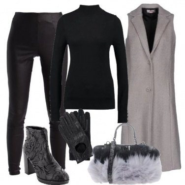 Outfit Cappotto gilet