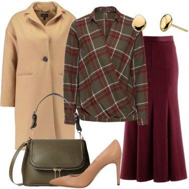 Outfit La blusa scozzese