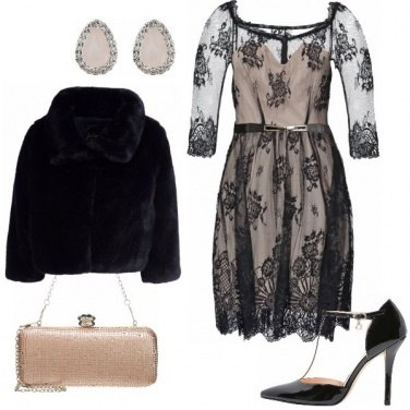 Outfit Delicate trasparenze
