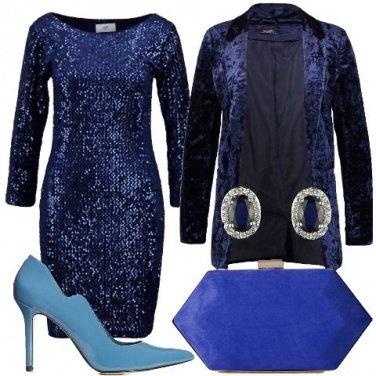 Outfit Tutto molto blu