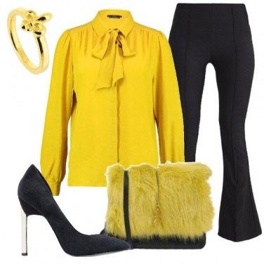 Outfit Per le amanti del giallo