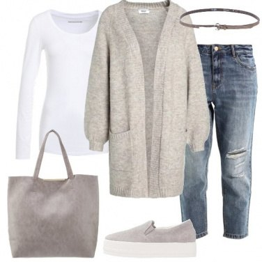 Outfit Il cardigan oversize
