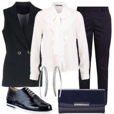 Outfit Formalmente mannish