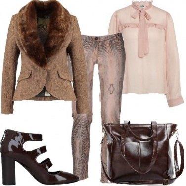 Outfit Animelier e rosa