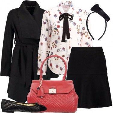 Outfit Fiocchetti neri
