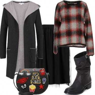 Outfit Urban con la gonna