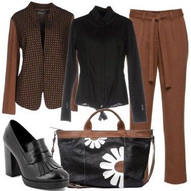 Outfit La borsa con le margherite