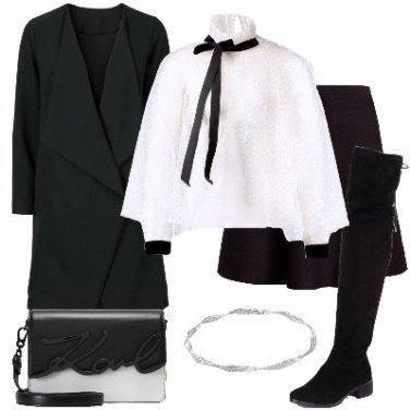 Outfit La camicia con il fiocco