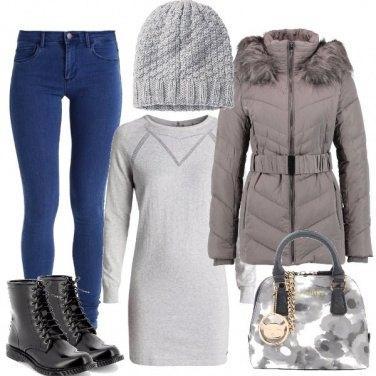 Outfit Comoda e al caldo