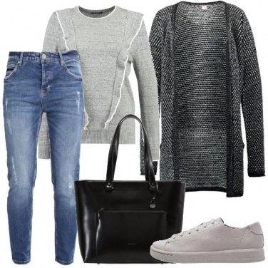 Outfit Maglione e jeans