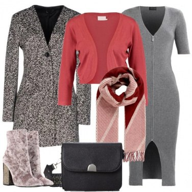 Outfit L\'abito in maglia longuette
