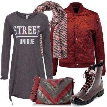 Outfit Andamento geometrico