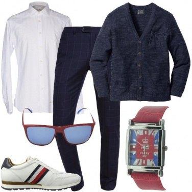 Outfit Sneaker bianche anche con il freddo