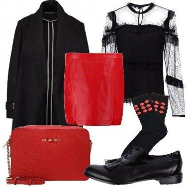 Outfit Calzini con applicazioni