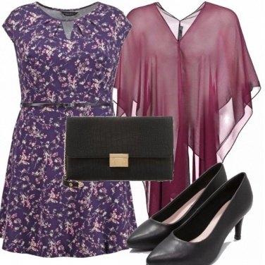 Outfit Una curvy tutta colorata