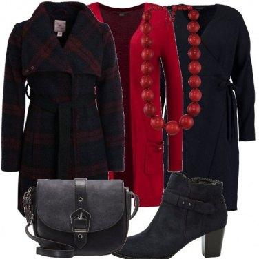 Outfit Il cappotto tartan