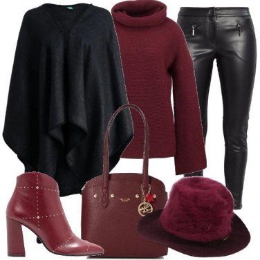 Outfit Il mio caldo cappello