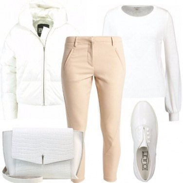 Outfit Bianco in neve