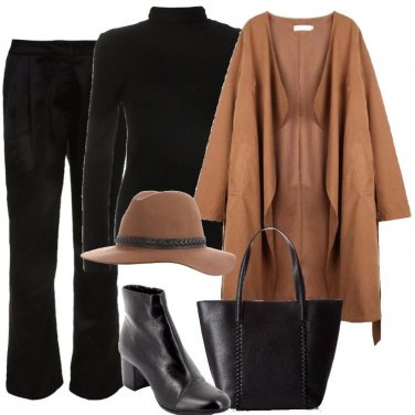 Outfit La giacca scamosciata