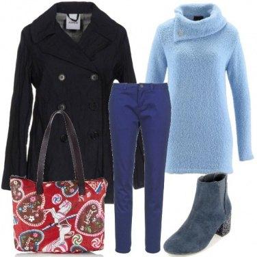 Outfit La mia voglia di blu