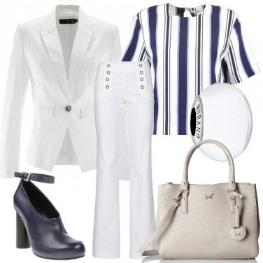 Outfit Le armonie del bianco