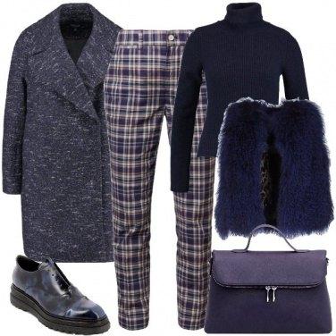 Outfit Pantalone a quadri
