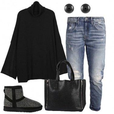 Outfit Il maglione oversize