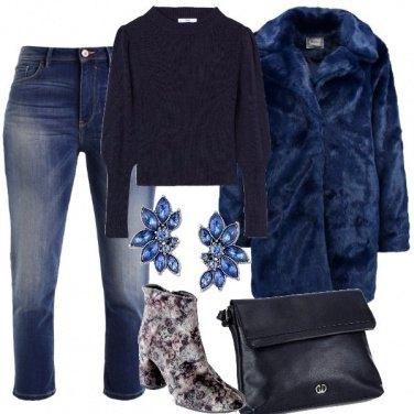 Outfit Sempre più blu
