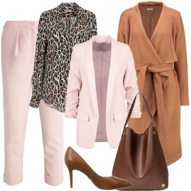Outfit Il tailleur rosa