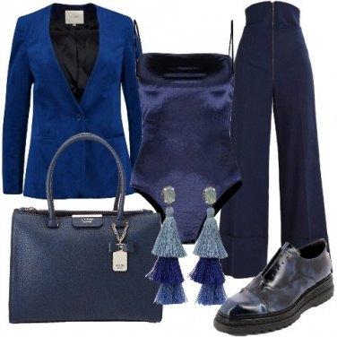 Outfit Blu come il cielo