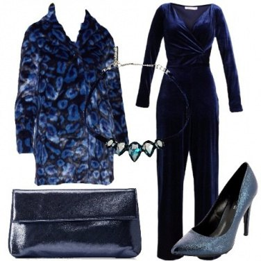 Outfit Jumpsuit in blu