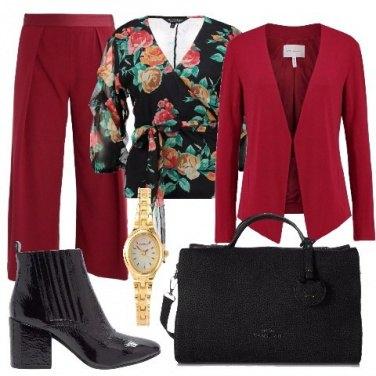 Outfit Camicia a fiori