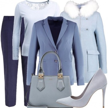 Outfit Passione azzurra
