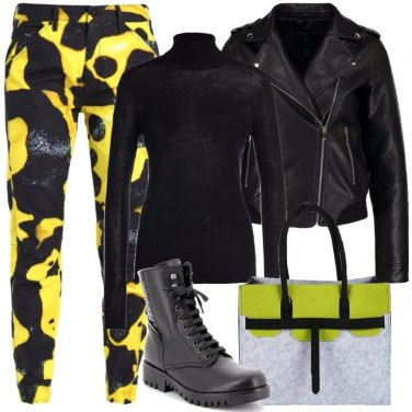 Outfit Rock alternativo