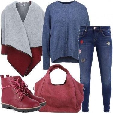 Outfit Il maglione comodo