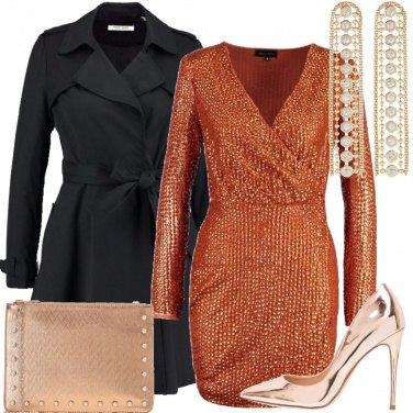 Outfit Il vestito con le paillettes