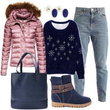 Outfit Il maglione caldo e comodo