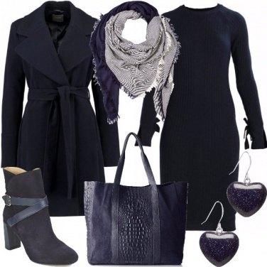 Outfit Blu notte e non solo
