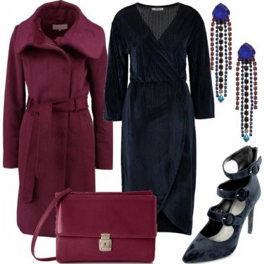 Outfit Contrasti con il blu