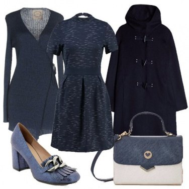 Outfit Montgomery blu