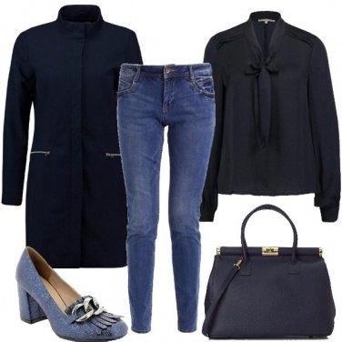 Outfit Passione blu